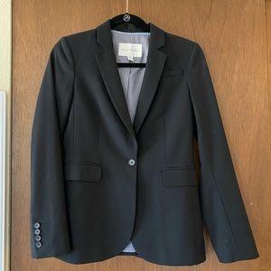 Banana Republic blazer size 2 black